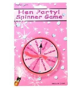 Mini Disco Party Spinner Game